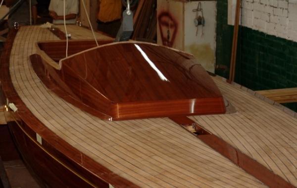 собрать лодку из дерева