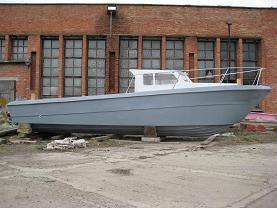 Лодка-катер Ахтарец-10