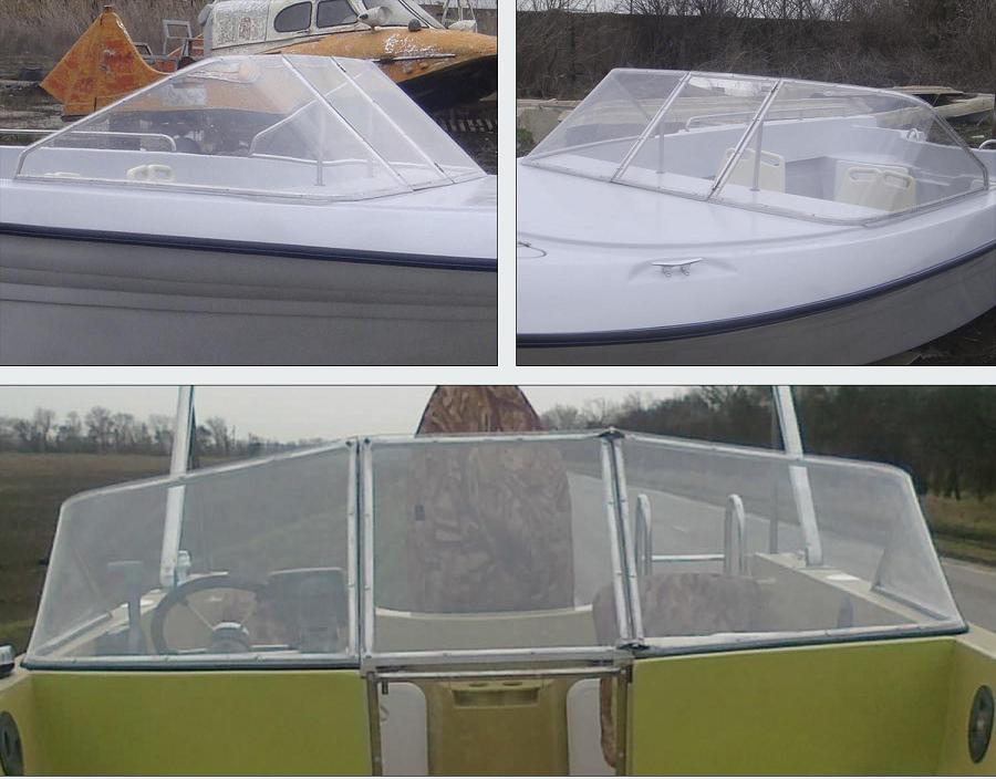 стекло на лодку купить в москве