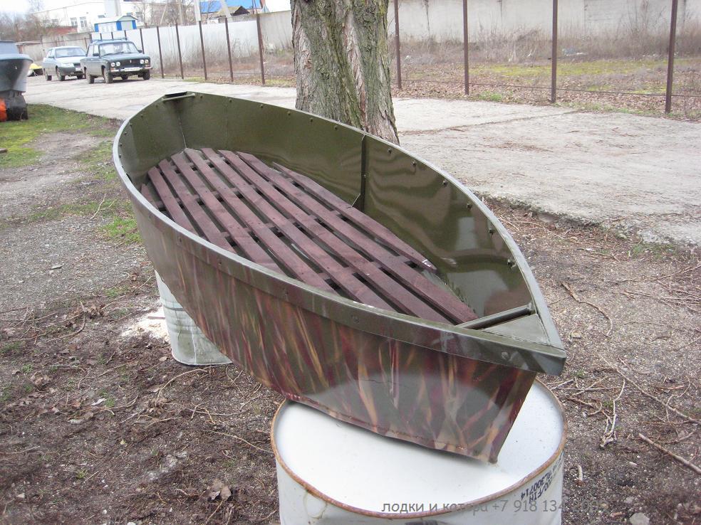 лодка из алюминия листового