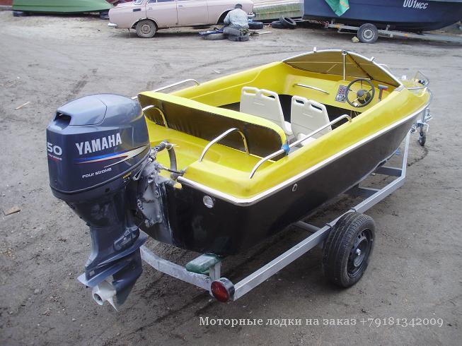небольшие пластиковые моторные лодки