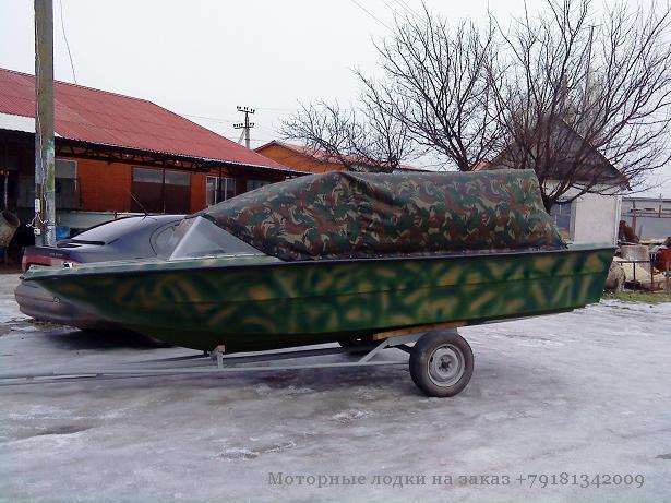 моторные лодки зил