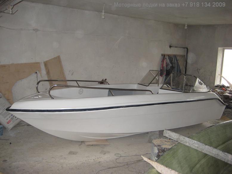 лодка касатка 640 на море видео