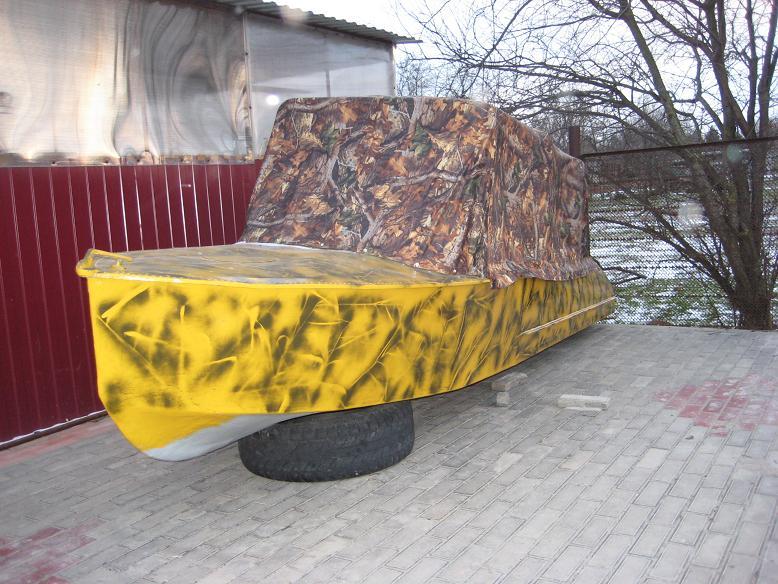 обклейка лодок как